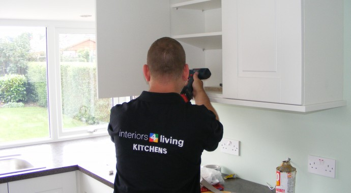 kitchen fiiter installing kitchens