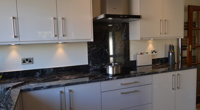 kitchen design bradford.  Interiors4living Kitchen Design Leeds Crossgates Slab Door Gloss Real Kitchens Interiors 4 Living