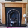 Gas Arch Cast Iron with Wooden Surround