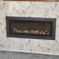 High Efficiency Glass Fronted Infinity 890 Balanced Flue Gas Fire