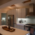 Absolute Blanc Quartz worktops kitchen showroom Leeds
