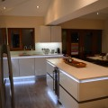 gloss white kitchen kitchen showroom leeds