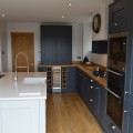 kitchen design, leeds, crossgates, interiors4living, shaker painted, shaker, quartz worktop,