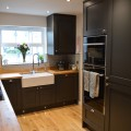 Integrated ovens and belfast sink - kitchens Leeds