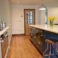 Integrated microwave and built under oven kitchen Leeds