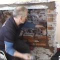 Fitting a Hole In The Wall Gas Fire Fireplaces Leeds