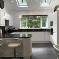 interiors4living, kitchen design, contemporary, handleless, gloss, granite, leeds, bradford