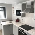 Built under oven with hob on top - kitchens Leeds