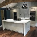 shaker painted, inframe, quartz worktop, contemporary classic, interiors4living, kitchen design
