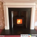 Slate Slips and Slate Hearth, Stoves Leeds