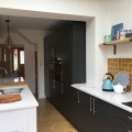 We recently supplied and installed this Matt Slab Dove Grey & Graphite kitchen with Ice White Quartz worktops for Mr & Mrs McGuire in Crossgates. Designed by Olivia.