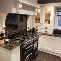 We recently supplied and installed this Shaker kitchen in Porcelain with Black Storm Granite worktops in East Keswick. Designed by Dale.