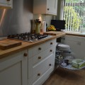 alabaster painted shaker kitchen kitchen showroom leeds