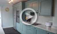 shaker painted, kitchen, leeds, interiors4living, kitchen design