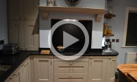 shaker painted kitchen kitchen showroom Leeds