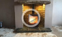 We recently supplied and installed this Dik Geurts Ivar 5 Low woodburning stove for Mr and Mrs Nobile in Bingley.